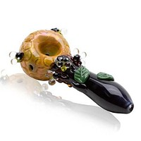 Empire Glass Bee Hive Spoon Glass Pipe