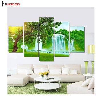 Diamond Painting Embroidery Kit Pictures of Rhinestones Multi-Picture Combination Triptych Home Decoration E6 FMMP-2001