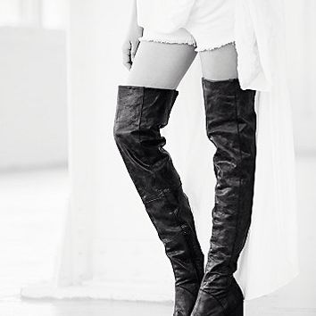 FP Collection Womens Estates Thigh Hi Boot