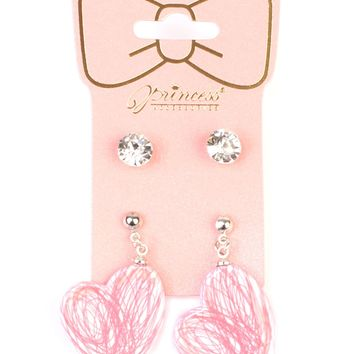 Cute Detailed Shape Earrings