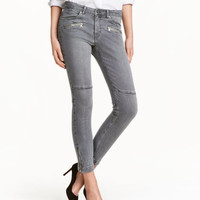 H&M Skinny Low Ankle Jeans $19.99