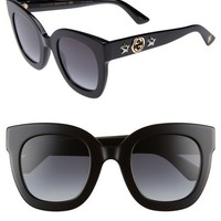 Gucci 49mm Cat Eye Sunglasses | Nordstrom