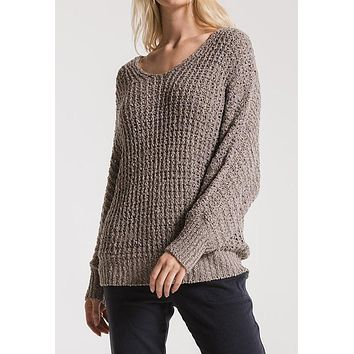 Rag Poets - Steeple Grey Laguna Sweater