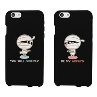 Matching Couples Cases - Mummy Couples for iphone 5, iphone 5C, iphone 6, iphone 6 plus, Galaxy S3, Galaxy S4, Galaxy S5, HTC M8, LG G3