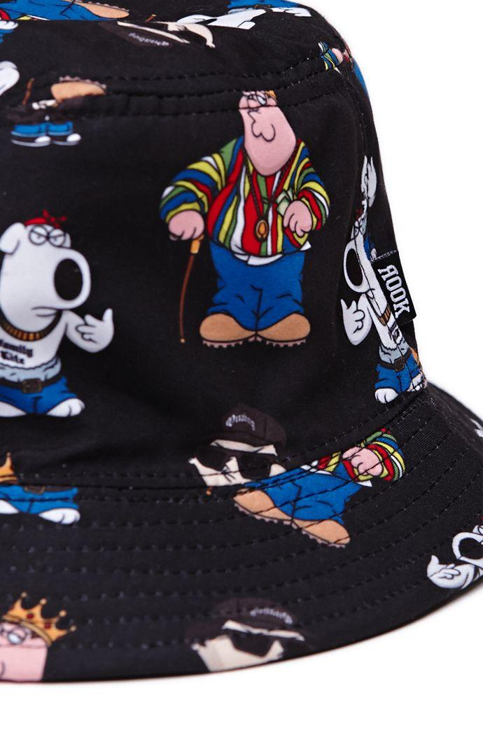 8c93cb1c916 Rook Rook - Family Guy Bucket Hat - Mens Backpack - Black - One