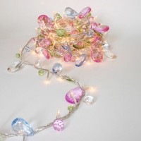 Bohemia 50LED String Lights with Jewels by Think Gadgets