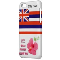 Hawaii 808 iPhone 5c CASE with state icons