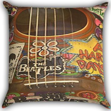 The beatles Zippered Pillows  Covers 16x16, 18x18, 20x20 Inches