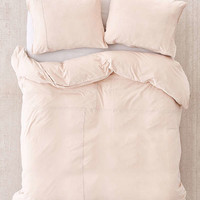 Frankie Pieced Jersey Duvet Cover | Urban Outfitters