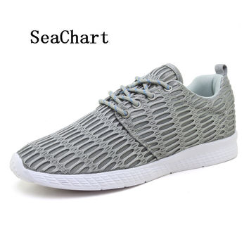 SeaChart Plus Size 35-48 Super Light Running Shoes For Men Women Breathable Running Sport Shoes Sneakers Unisex Athletic Shoes