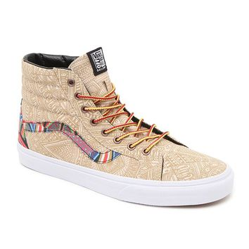 Vans SK8 Hi Off The Wall Gallery Shoes - Mens Shoes - Multi