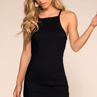 Two Please Bodycon Dress - Black