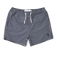 The Native Youth Grid Print Swim Short - Swimming Trunks - Clothing | Shop for Men's clothing | The Idle Man