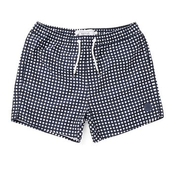 The Native Youth Grid Print Swim Short - Swimming Trunks - Clothing   Shop for Men's clothing   The Idle Man