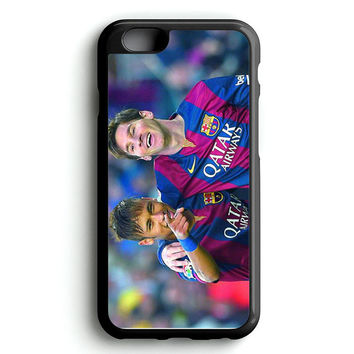 Messi and Neymar Celebration iPhone 4s iphone 5s iphone 5c iphone 6 Plus Case | iPod Touch 4 iPod Touch 5 Case