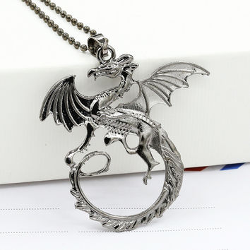 Jewelry Stylish Shiny Game Of Thrones Games Necklace = 4806946628