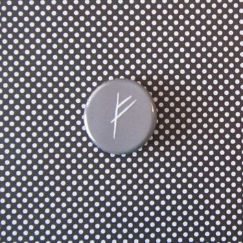 Gandalf's Rune the Hobbit Pinback Button