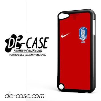 South Korea Soccer Jersey For Ipod 5 Ipod Touch 5 Case Phone Case Gift Present YO