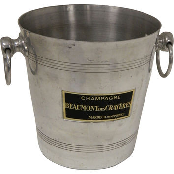 French Beaumont Champagne Bucket