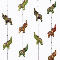 Opulent Elephants On A String
