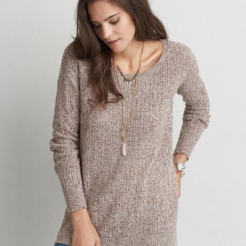 AEO Pullover Jegging Sweater, Oatmeal