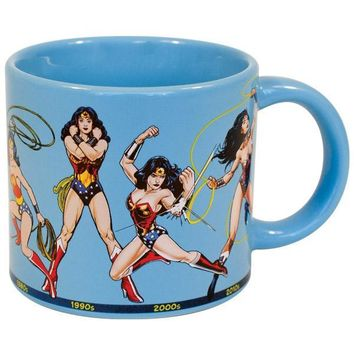 PHILOSPHERS GUILD Wonder Woman Through the Years Mug