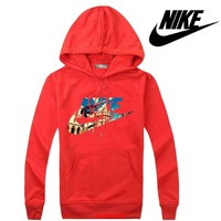Nike Women Men Casual Long Sleeve Top Sweater Hoodie Pullover Sweatshirt-9