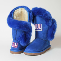 """New York Giants Women's Cuce Official NFL """"Champions"""" Boots"""