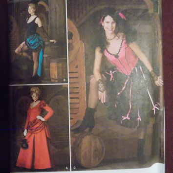 simplicity Sewing Pattern 2851 Misses' costumes Size 6 to 12