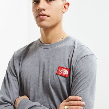 The North Face Patch Long Sleeve Tee | Urban Outfitters
