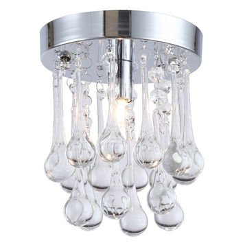 Mini Modern Crystal Ceiling Light Fixture Spiral Crystal Lamp Crystal lustre Light fitting LED