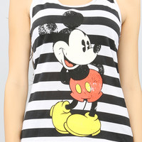 STRIPED MICKEY MOUSE TANK