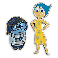 Sadness and Joy Pin Set - Inside Out