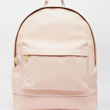 Mi-Pac Backpack in Tumbled Pastel Pink from ASOS
