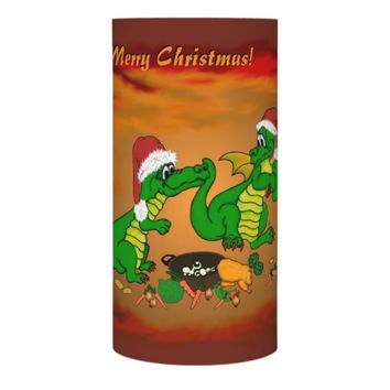 Christmas Dragons - today I will cook Flameless Candle