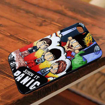 All time low dont Panic customized for iphone 4/4s/5/5s/5c, samsung galaxy s3/s4/s5 and ipod 4/5 cases