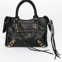 Such A Stud Handbag Black