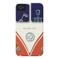 Zombie Van iPhone cases Iphone 4 Case-mate Cases from Zazzle.com