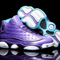 Air Jordan 13 AJ13 Violet Women Basketball Shoes US 5.5-8.5