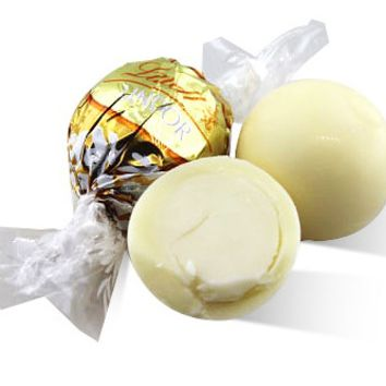 White Chocolate Lindor Truffles -  - Lindt - Switzerland - 3 oz