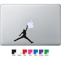 Jumping Man Basketball Decal for Macbook, Air, Pro or Ipad