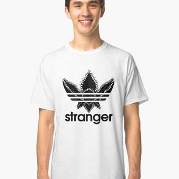'Stranger Things - Adidas logo' Classic T-Shirt by ElevenThings