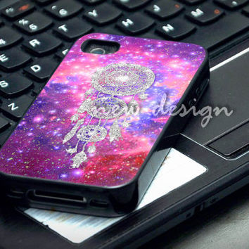 Dream Cather Silver Nebula case for iphone 4/4S, iphone 5/5C, samsung galaxy s3, samsung galaxy s4, ipod 4 and ipod 5