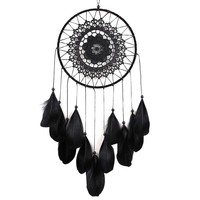 Handmade Black Dreamcatcher