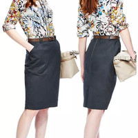 White Floral Print Long-Sleeve Collared Shirt