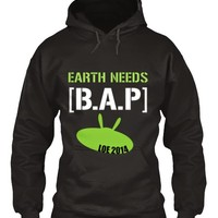 BYS: EARTH NEEDS [ B.A.P ] Project: Flags Project for Each Stops & Charity