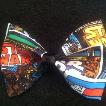 Star Wars Comic Hair Bow