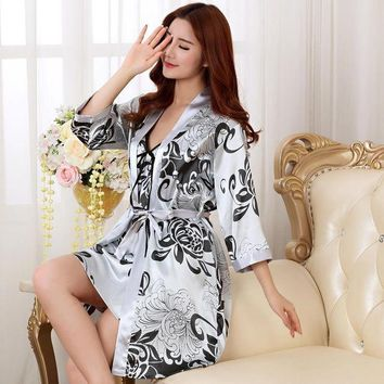 ESBONJ NEW Fashion women men nightwear sexy sleepwear lingerie sleepshirts nightgowns sleeping dress good nightdress lover's Homewear