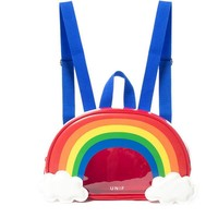 2017 Women Designer Korean Backpack Colorful Rainbow School Bags Transparent Bag For Teenager Special Backpacks Y067