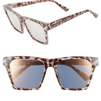 Quay Australia x Missguided Alright 55mm Square Sunglasses | Nordstrom